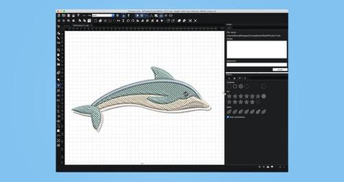 digitizing software simple design