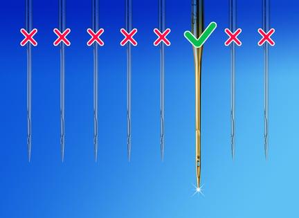 wrong needle